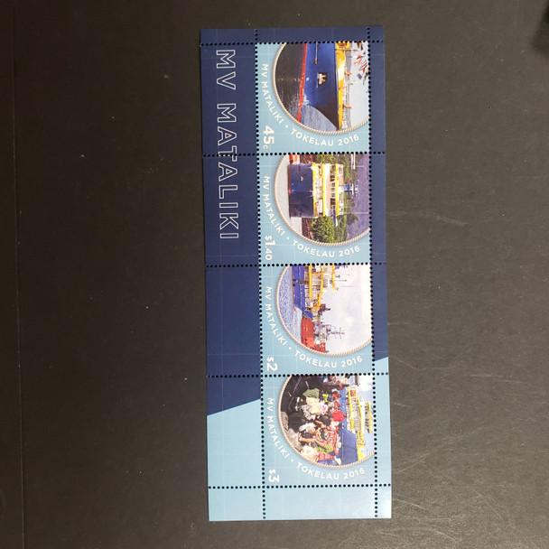 TOKELAU (2017) MV MATALIKImi FERRY SS Sheet