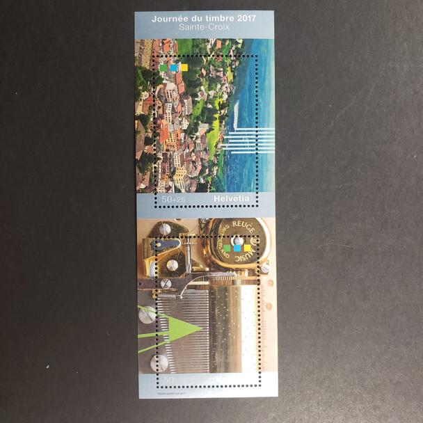 SWITZERLAND (2017) Stamp Day Sheet
