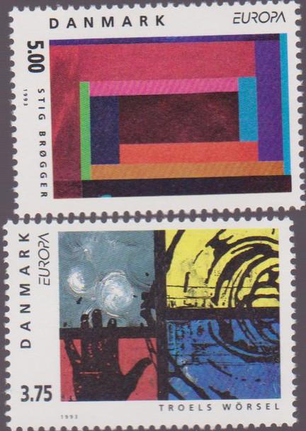 DENMARK (1993) ART, EUROPA (2v)