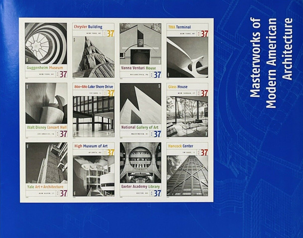 US (2005)- AMERICAN ARCHITECTURE SHEET #3910