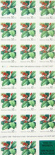 20 MINT SELF-ADHESIVE PANES/SHEETS OF 32c STAMPS-TOTAL FACE VALUE= $128