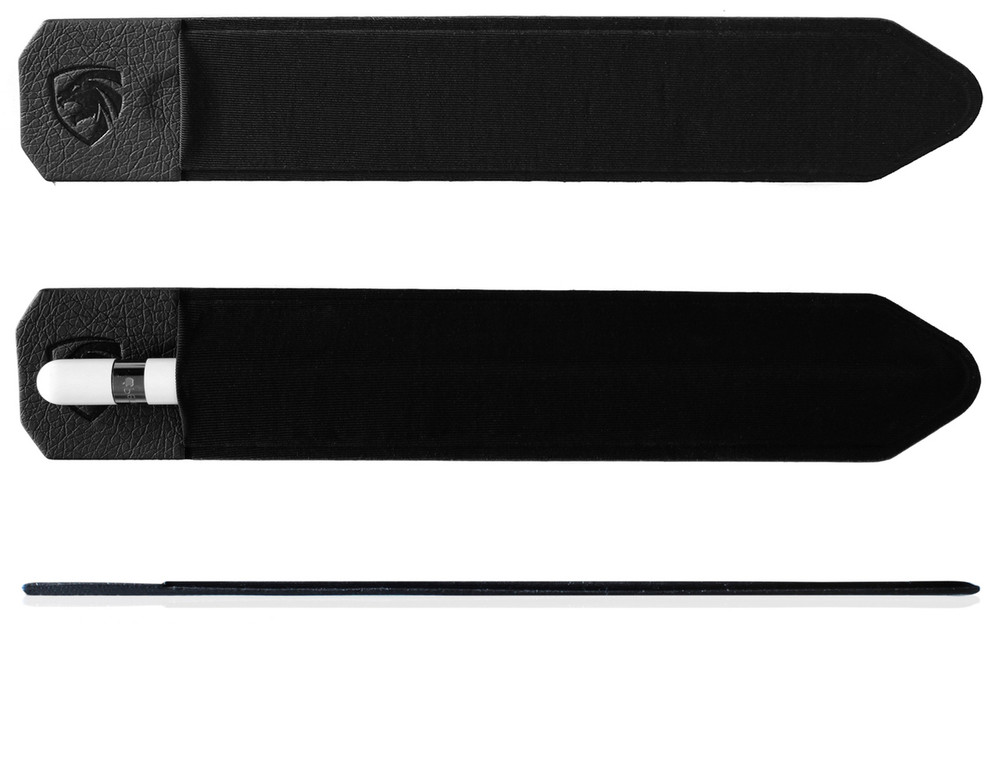 Apple Pencil Holder Sticker - Peel N Stick Elastic Stylus Pocket