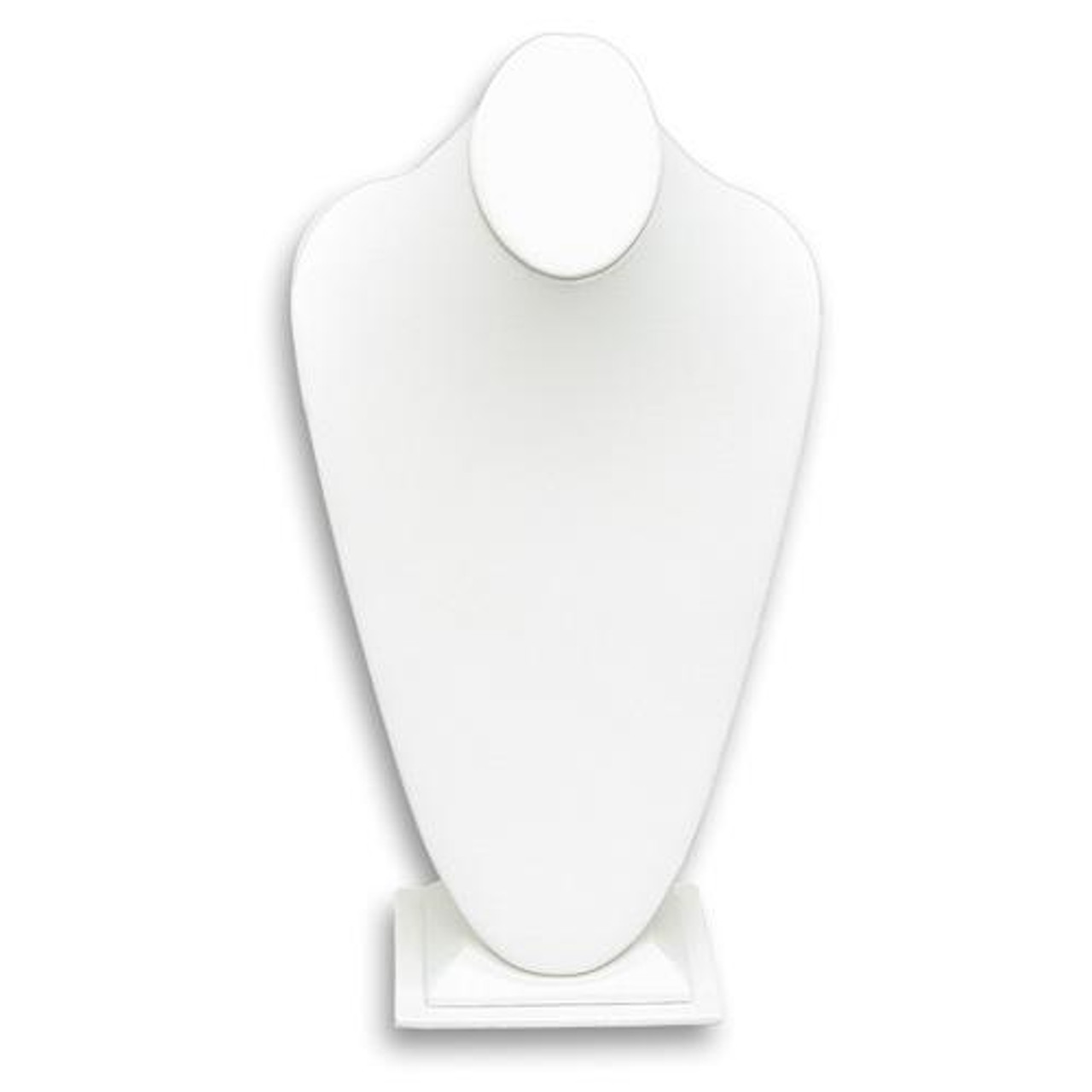 Wholesale 5 White Necklace Stands Jewellery Holder Shop Display Bust