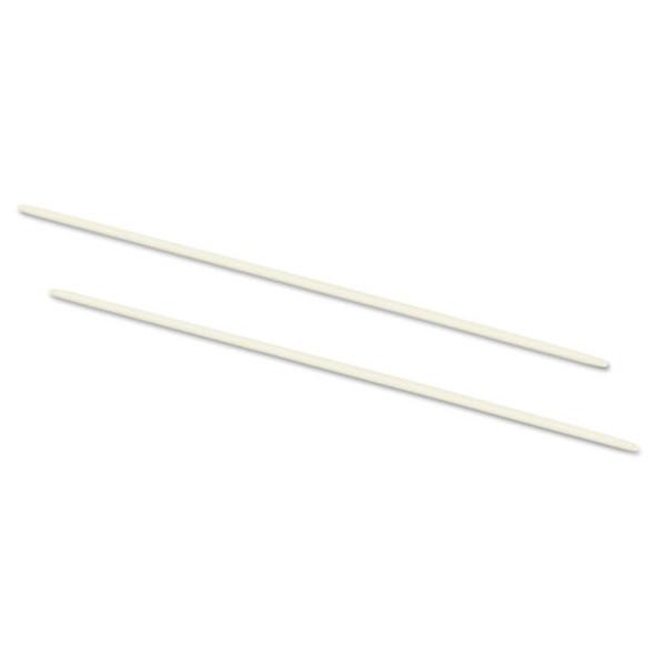 "Data Flex 8-1/2 Nylon Posts For Top/bottom Loading Binders, 6"" Cap, 20/pack"