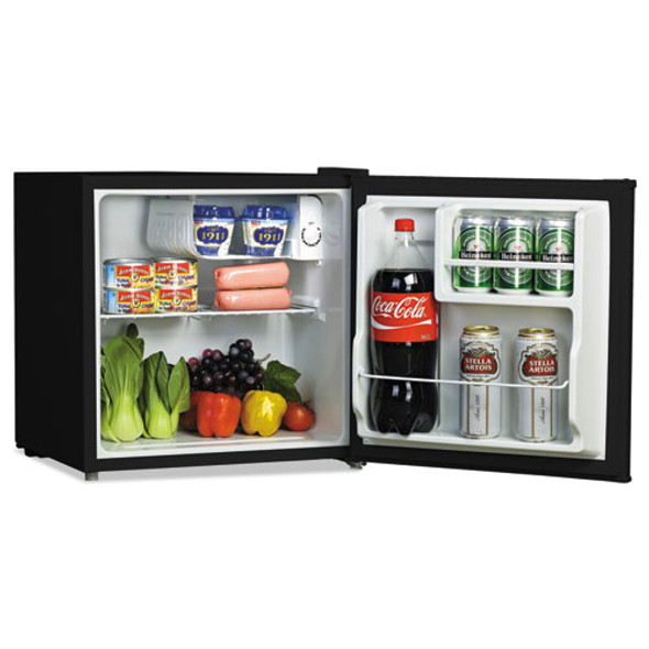 1.6 Cu. Ft. Refrigerator With Chiller Compartment, Black