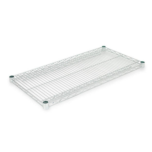Industrial Wire Shelving Extra Wire Shelves, 36w X 18d, Silver, 2 Shelves/carton