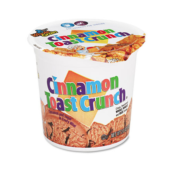 Cinnamon Toast Crunch Cereal, Single-serve 2 Oz Cup, 6/pack