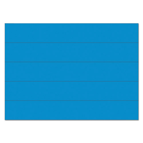 "Dry Erase Magnetic Tape Strips, Blue, 6"" X 7/8"", 25/pack"