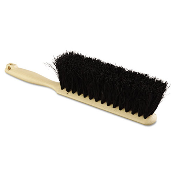 """Counter Brush, Tampico Fill, 8"""" Long, Tan Handle"""