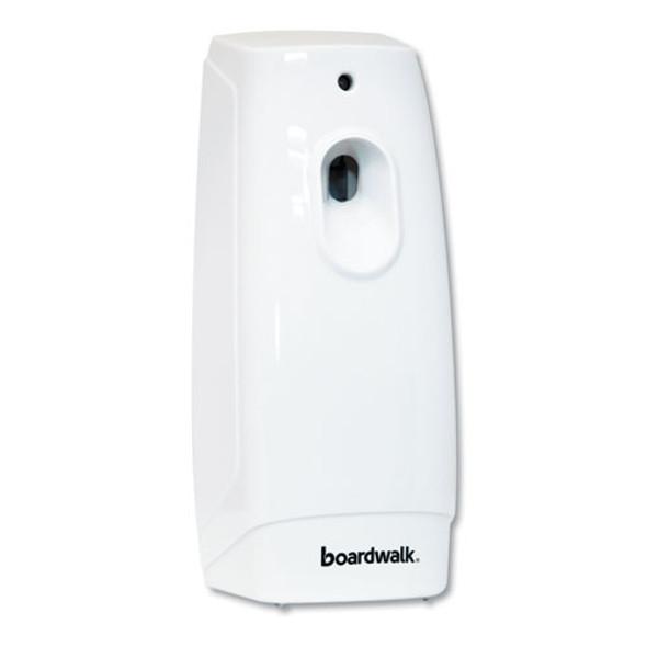 "Classic Metered Air Freshener Dispenser, 4"" X 3"" X 9.5"", White"