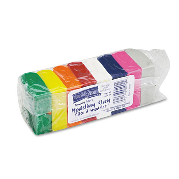 Modeling Clay Assortment, 27.5 G Of Each Color, Assorted Bright, 220 G