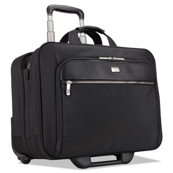 "17"" Checkpoint Friendly Rolling Laptop Case, 17.9"" X 10.6"" X 14.8"", Black"