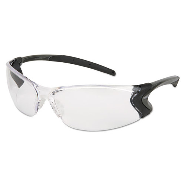Backdraft Glasses, Clear Frame, Hard Coat Clear Lens