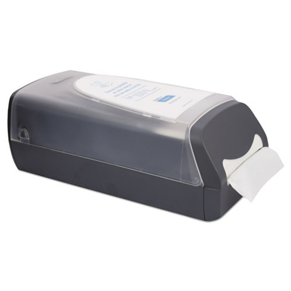 Tandem Countertop Napkin Dispenser, 8.27 X 16.34 X 6 1/2, Gray