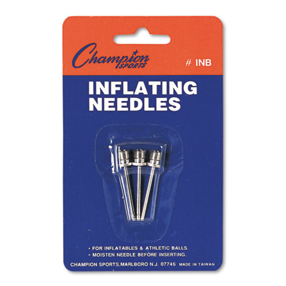 Nickel-plated Inflating Needles For Electric Inflating Pump, 3/pack