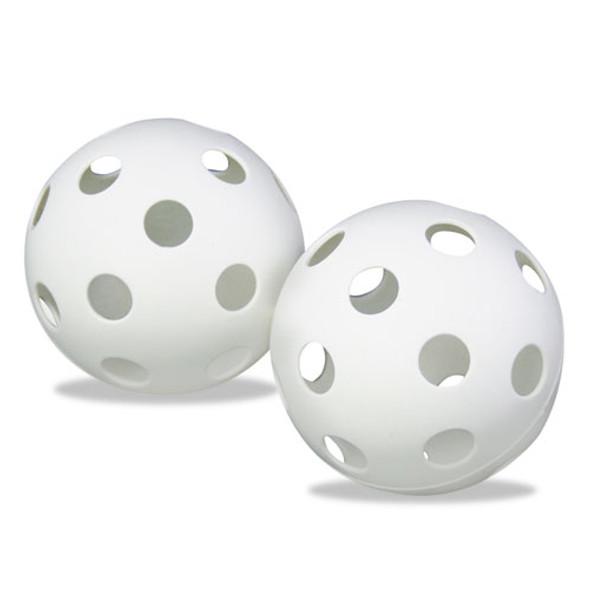 """Plastic Baseballs, 9"""", White, 12/set"""