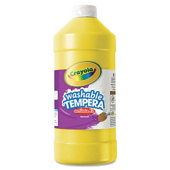 Artista Ii Washable Tempera Paint, Yellow, 32 Oz