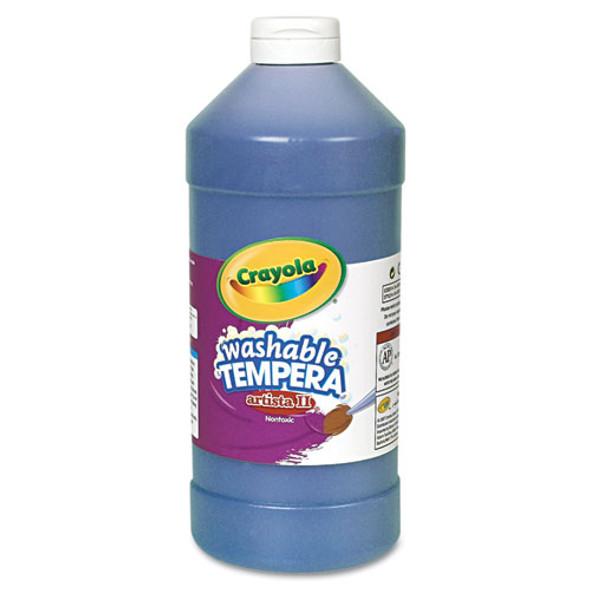 Artista Ii Washable Tempera Paint, Blue, 32 Oz
