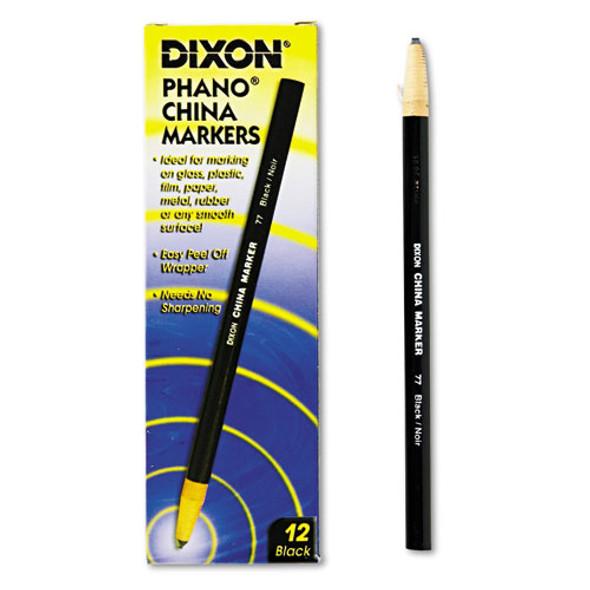 China Marker, Black, Dozen
