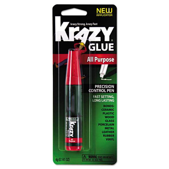 All Purpose Krazy Glue, 0.14 Oz, Dries Clear