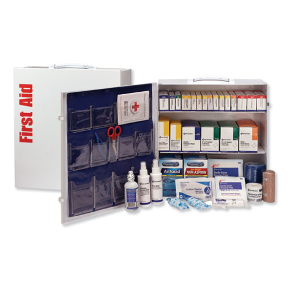 Ansi 2015 Class A+ Type I Industrial First Aid Kit 100 People, 676 Pieces