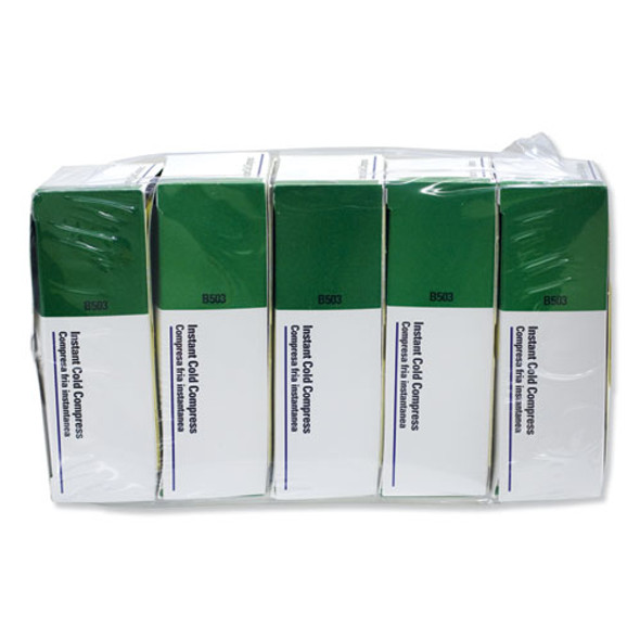 """Instant Cold Compress, 5 Compress/pack, 4"""" X 5"""", 5/pack"""