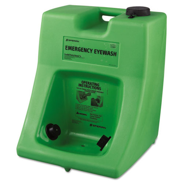 Fendall Porta Stream Ii Eye Wash Station With Water Additive, 16 Gal