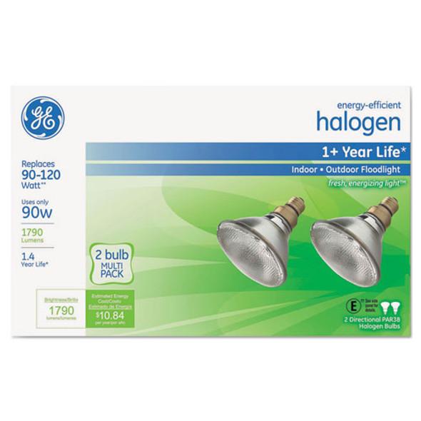 Energy-efficient Par38 Halogen Bulb, 80 W, 2/pack