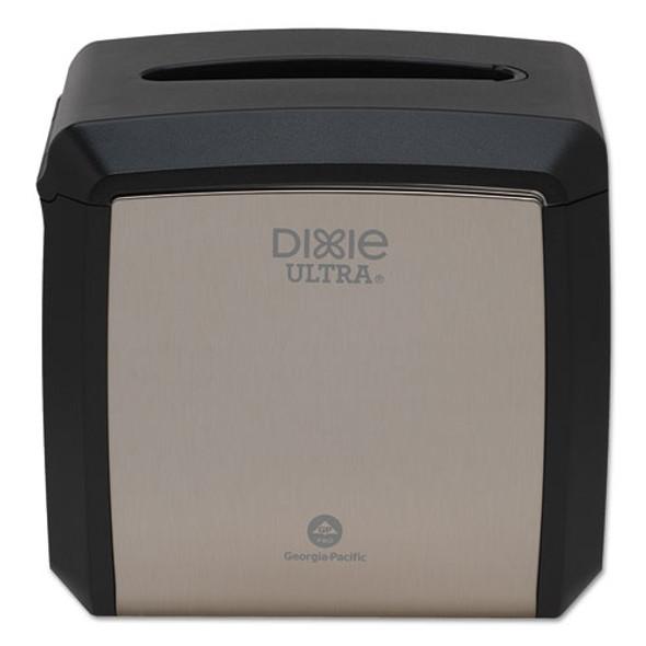 """Tabletop Napkin Dispenser, 7.6"""" X 6.1"""" X 7.2"""", Stainless"""