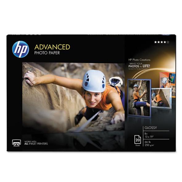 Advanced Photo Paper, 10.5 Mil, 13 X 19, Glossy White, 20/pack