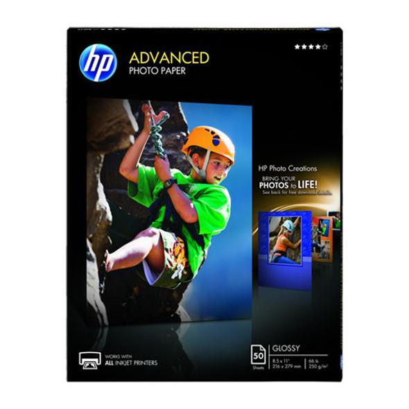 Advanced Photo Paper, 10.5 Mil, 8.5 X 11, Glossy White, 50/pack