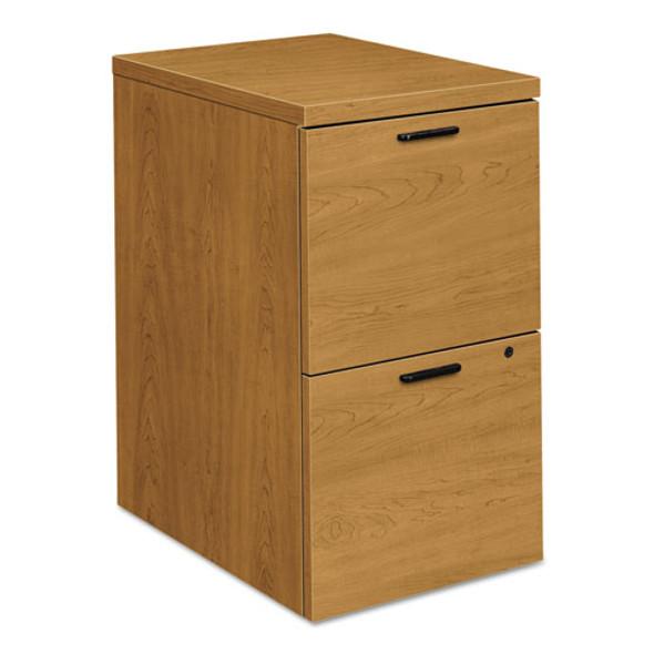 10500 Series File/file Mobile Pedestal, 15.75w X 22.75d X 28h, Harvest