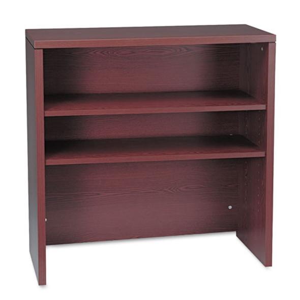 10500 Series Bookcase Hutch, 36w X 14.63d X 37.13h, Mahogany