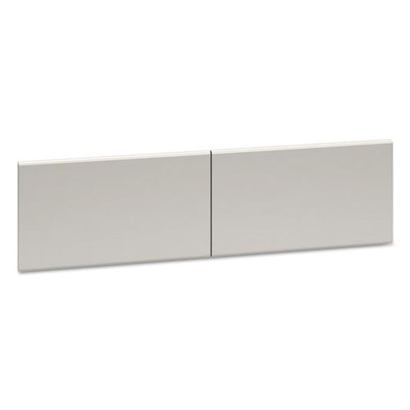 "38000 Series Hutch Flipper Doors For 60""w Open Shelf, 30w X 15h, Light Gray"