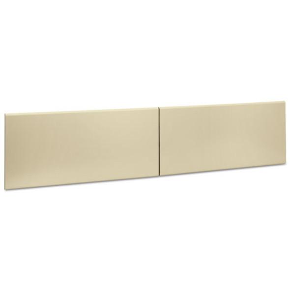 "38000 Series Hutch Flipper Doors For 72""w Open Shelf, 36w X 15h, Putty"