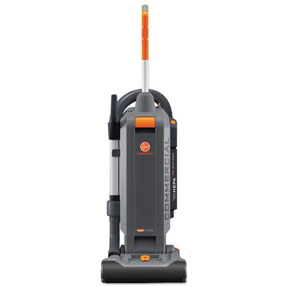 "Hushtone Vacuum Cleaner With Intellibelt, 13"", Orange/gray"