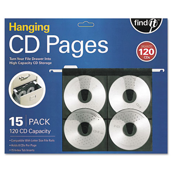 Hanging Cd Pages, 15/pack