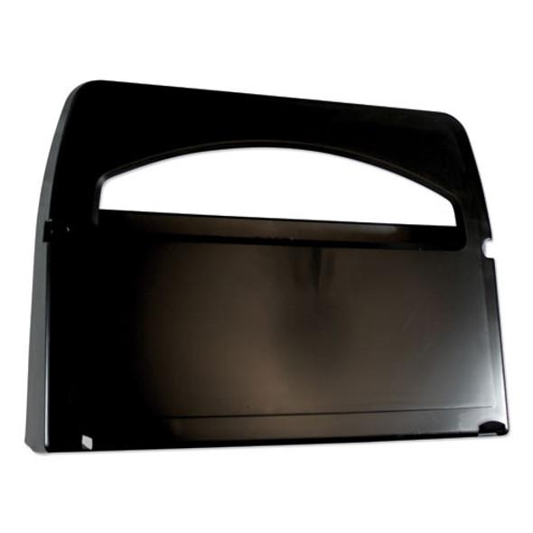 Toilet Seat Cover Dispenser, 16.4 X 3.05 X 11.9, Black, 2/carton