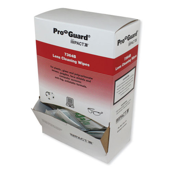 Pro-guard Disposable Lens Cleaning Wipes, 5.1 X 8.1, 100/box