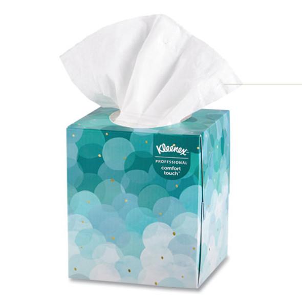 Boutique White Facial Tissue, 2-ply, Pop-up Box, 95 Sheets/box