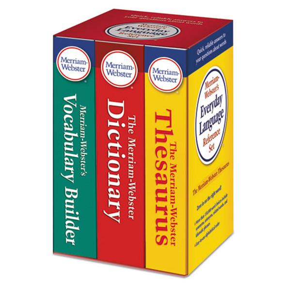 Everyday Language Reference Set, Dictionary, Thesaurus, Vocabulary Builder