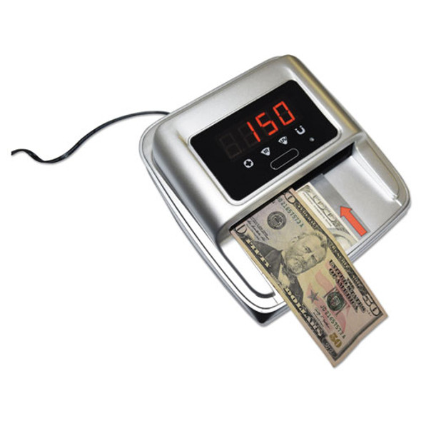 Automatic Counterfeit Detector, 5 1/2 X 4.88 X 2.8, Silver