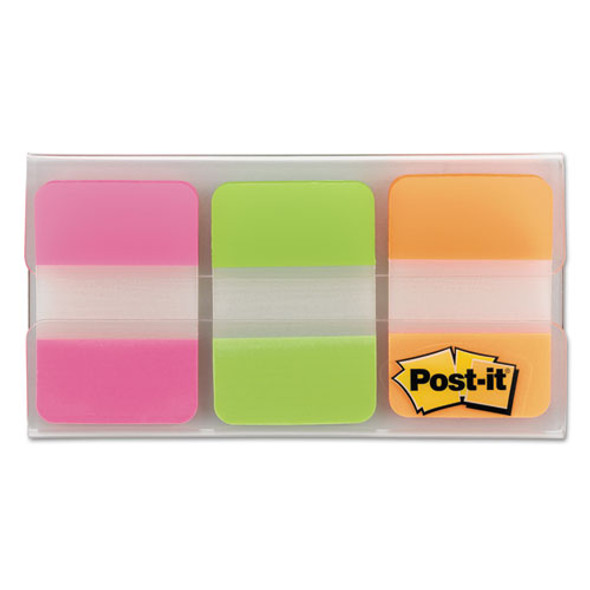 "1"" Tabs, 1/5-cut Tabs, Assorted Brights, 1"" Wide, 66/pack"