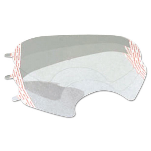6000 Series Full-facepiece Respirator-mask Faceshield Cover, Clear
