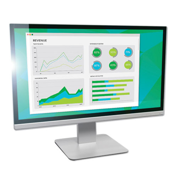 """Antiglare Frameless Filter For 24"""" Widescreen Monitor, 16:9 Aspect Ratio"""
