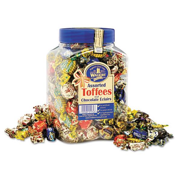 Assorted Toffee, 2.75 Lb Plastic Tub