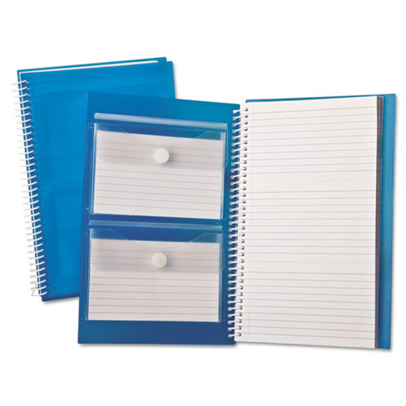 Index Card Notebook, Ruled, 3 X 5, White, 150 Cards Per Notebook