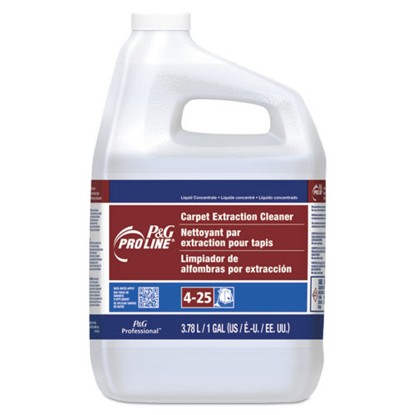 #25 Carpet Extraction Cleaner, Peach Scent, 1 Gallon Bottle, 4/carton