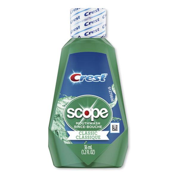 + Scope Rinse, Classic Mint, 36 Ml Bottle, 180/carton