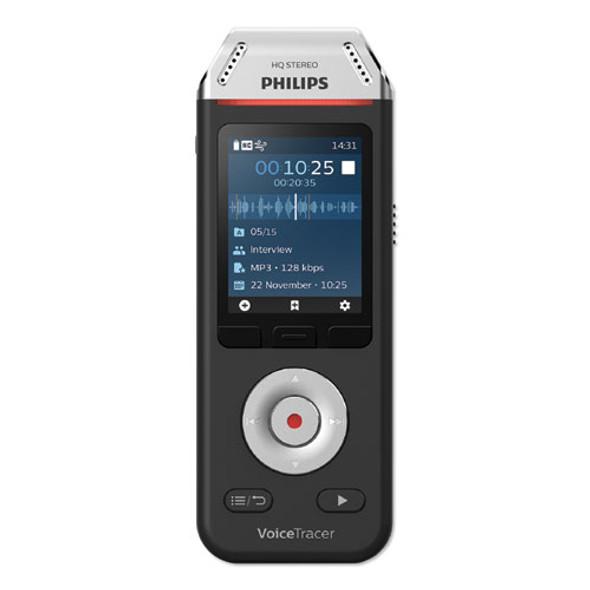 Voice Tracer Dvt2110 Digital Recorder 8 Gb, Black/silver